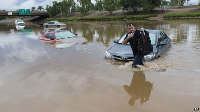 Arizona floods: Jan Brewer declares state of emergency