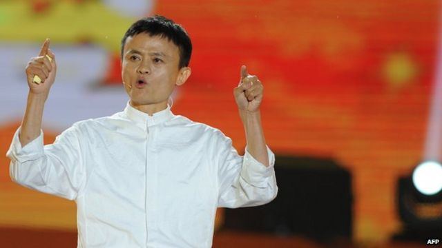 Alibaba IPO: Chairman Ma's China