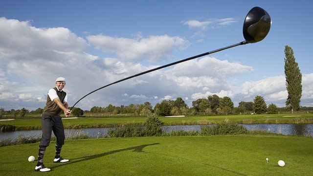 Karsten Maas and the longest useable golf club