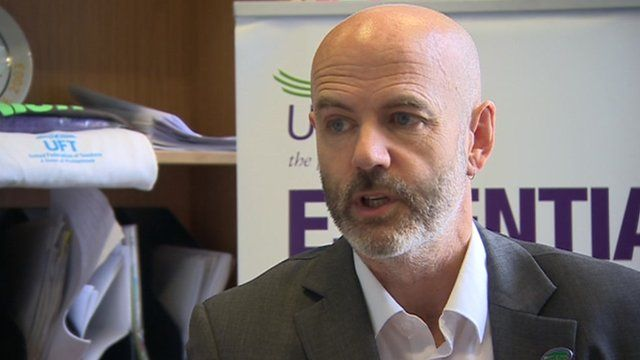Dominic MacAskill of the trade union Unison