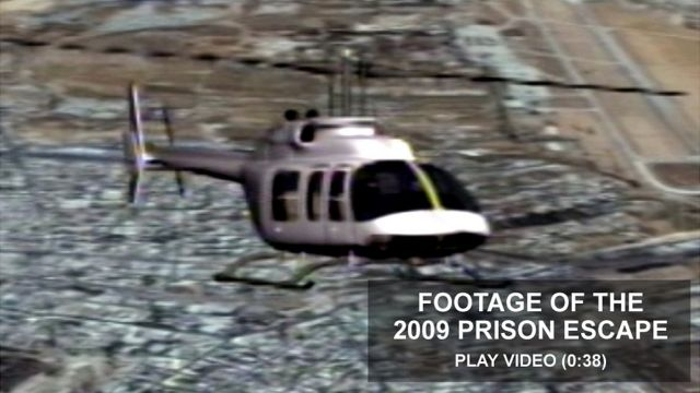 TV graphic of helicopter