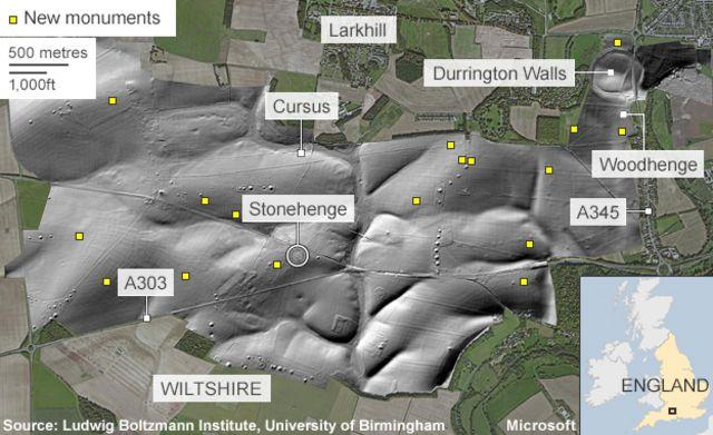 Stonehenge secrets revealed by underground map
