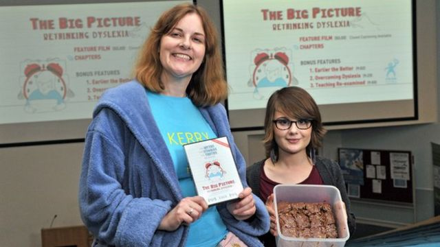 Mother and daughter with dyspraxia offer help on video