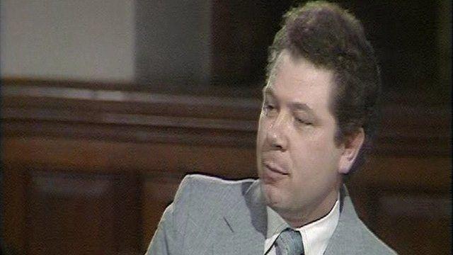 Jim Sillars debating in 1979.