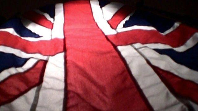 The Union Flag.