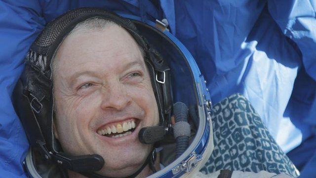 US NASA astronaut Steve Swanson