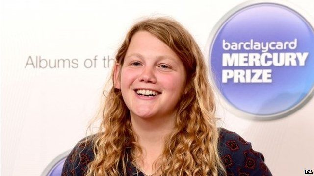Kate Tempest whose Everybody Down album has been nominated for this year's Barclaycard Mercury Prize