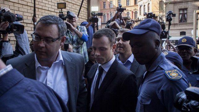 Pistorius arrives at court