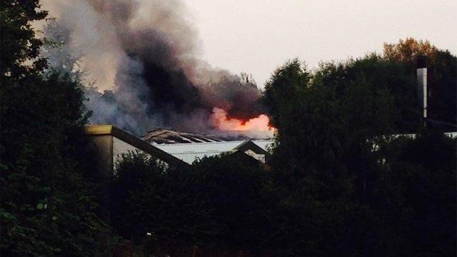 the fire at Manchester Dogs' Home
