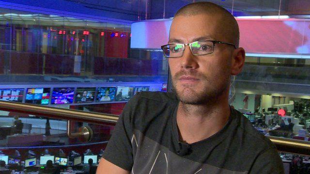 UK Ebola survivor William Pooley