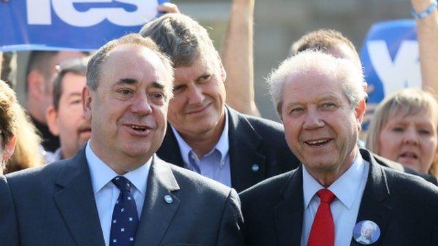 Alex Salmond and Jim Sillars