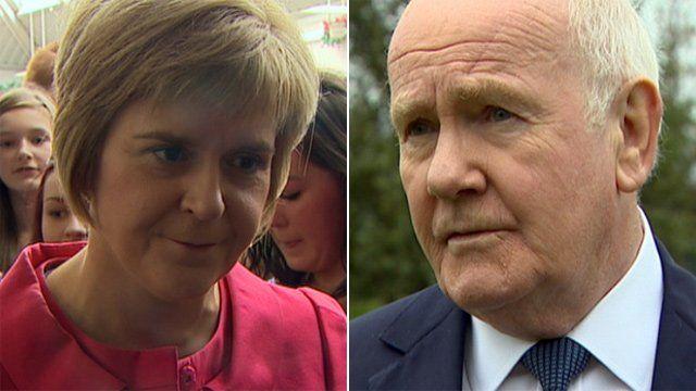 Nicola Sturgeon and Lord Reid