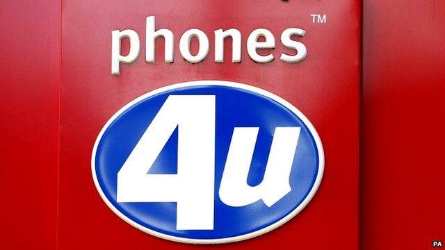 Phones 4U store in London