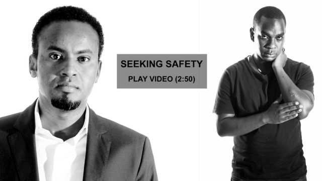 Responder and survivor from the Westgate attack, Nairobi - September 2013