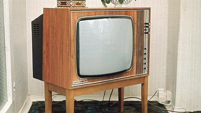 An old fashioned TV Set