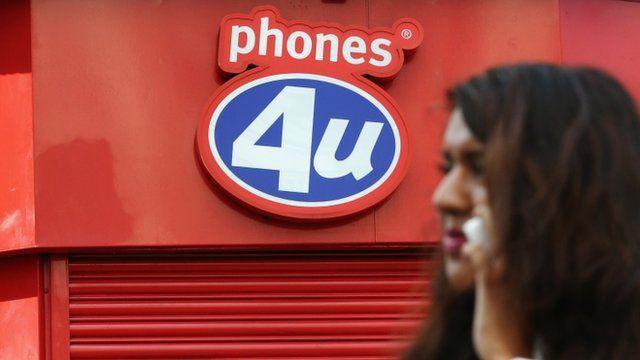 Shuttered Phones 4 U shop