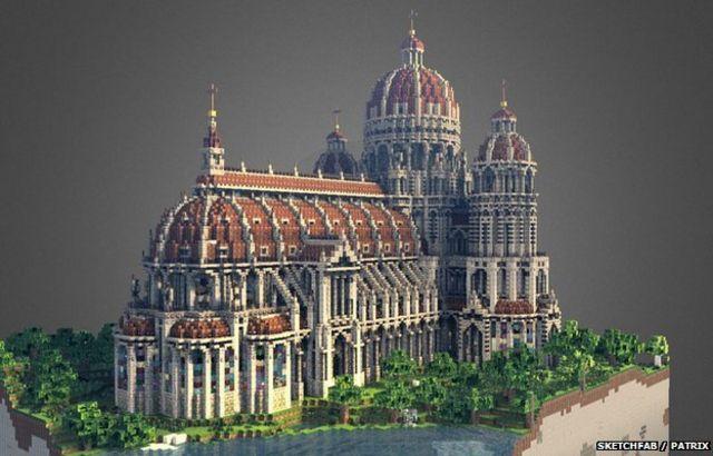 Seven spectacular Minecraft creations