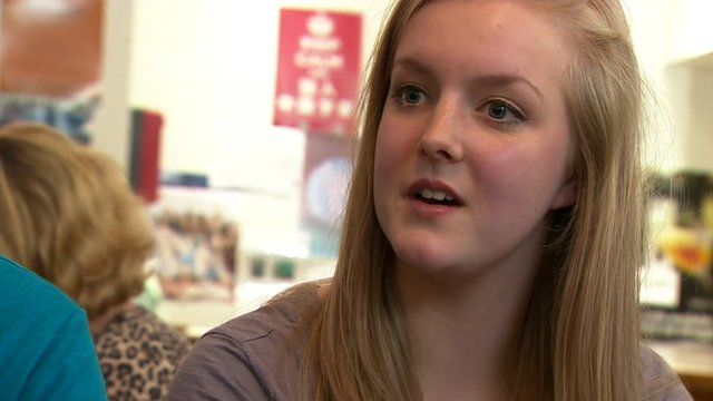 Glasgow University student