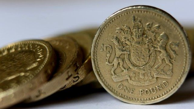 Sterling pound coins