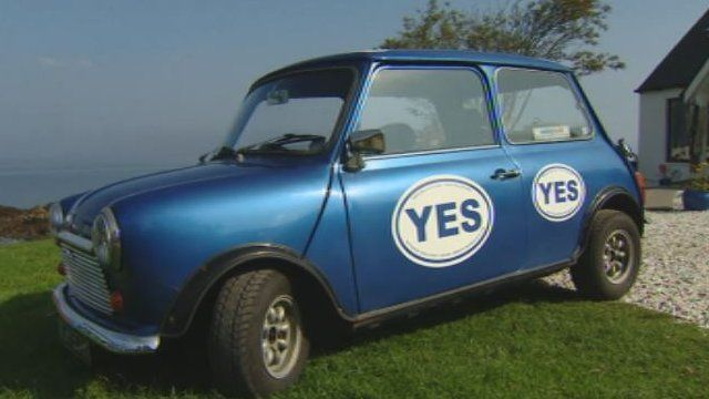 Yes voters are campaigning hard on Skye