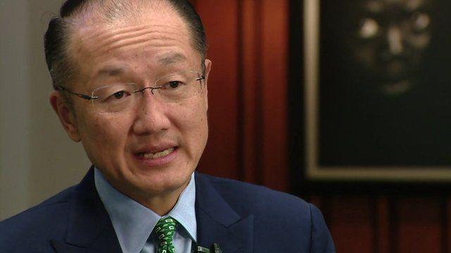 Dr Kim Jim of the World Bank