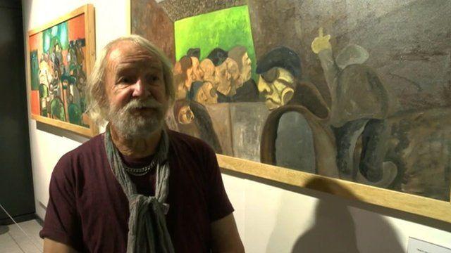 Artist Dave Watson