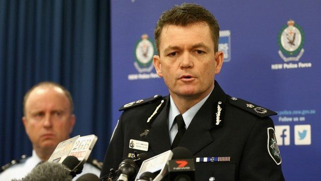 Acting Commissioner Andrew Colvin releasing details of an extensive NSW Joint Counter Terrorism Team operation