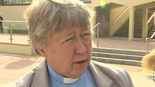 The Archdeacon of Llandaff, the Ven Peggy Jackson