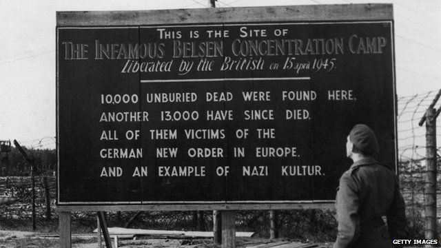 Bergen-Belsen after liberation