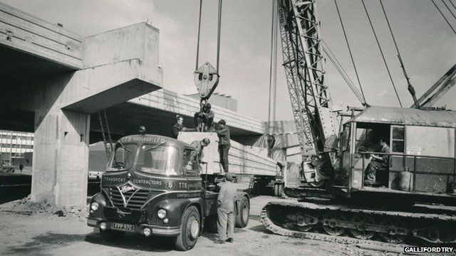 Coventry ring road being built