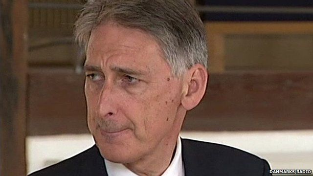 British Foreign Secretary Philip Hammond