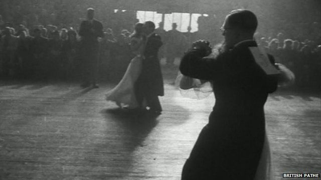Ballroom dancing - from British Pathe footage
