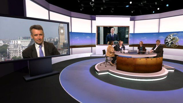 Bernard Jenkin, Diane Abbott and Daily Politics panel