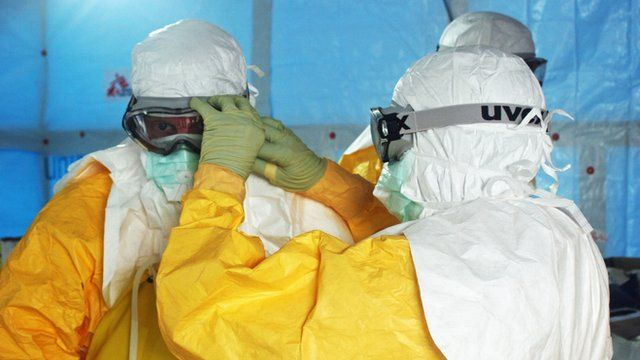 Healthcare workers in the fight against Ebola