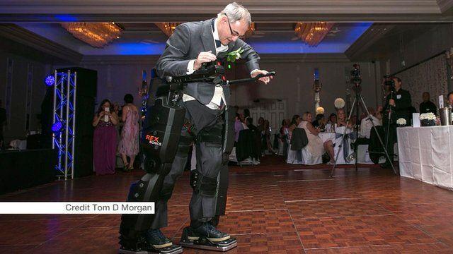 Irving Caplan at his daughter's wedding