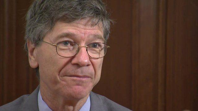 US economist Jeffrey Sachs