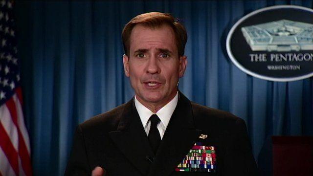 Pentagon spokesman Rear Adm John Kirby