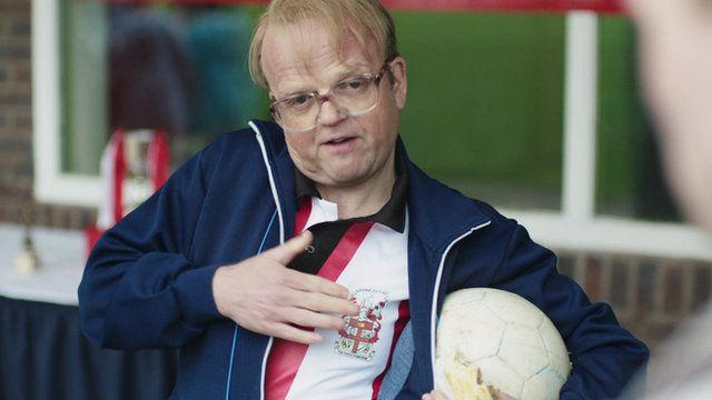 Toby Jones playing Neil Baldwin
