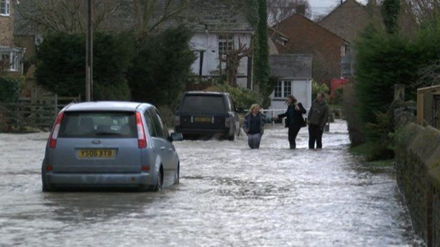 Floods in Oxfordshire