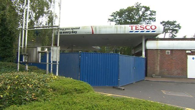 Tesco in Branksome