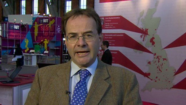 Quentin Letts at Labour conference
