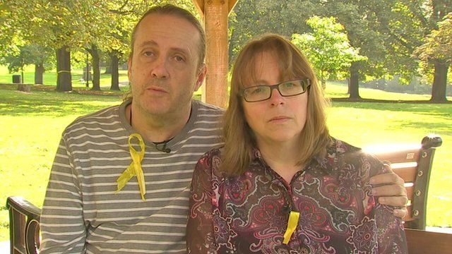 Parents of Alice Gross, Jose Gross and Rosalind Hodgkiss