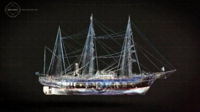 3D model of the RRS Discovery