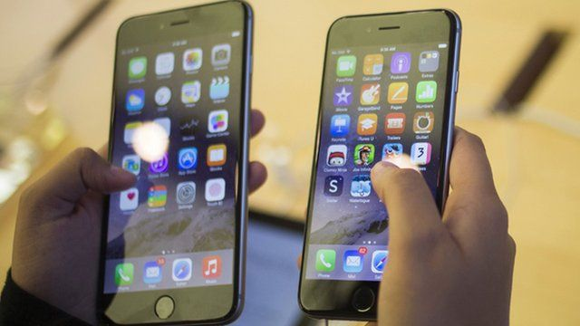 iPhone and iPhone 6 Plus