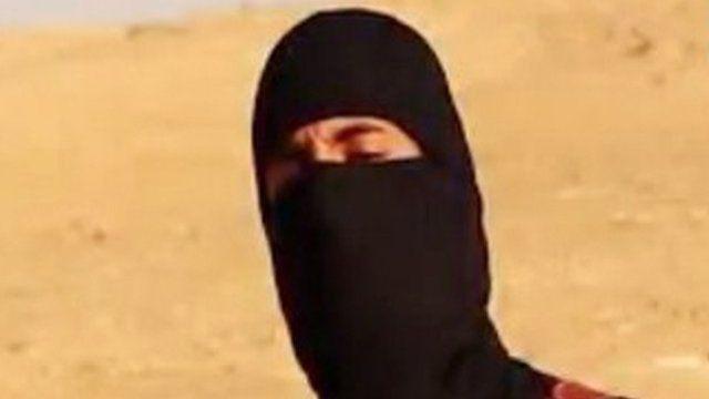 Islamic State fighter, so-called Jihadi John