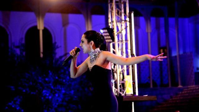 Rapper 'Paradise' at Kabul's Rumi awards