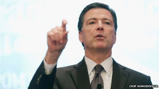 FBI boss 'concerned' by smartphone encryption plans