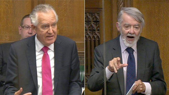 Peter Hain (left) and Paul Flynn