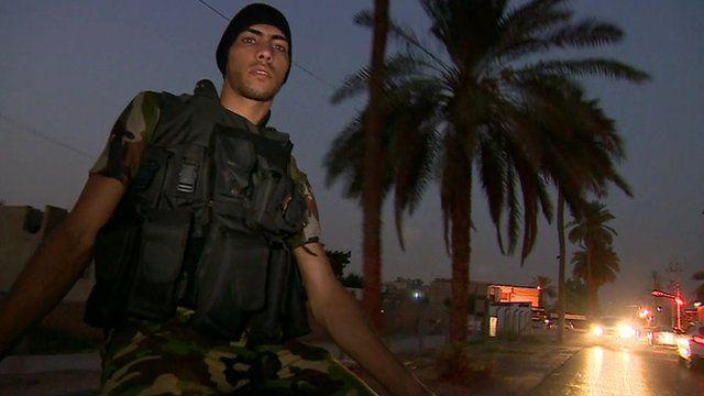 Iraqi fighter, Bagdhad