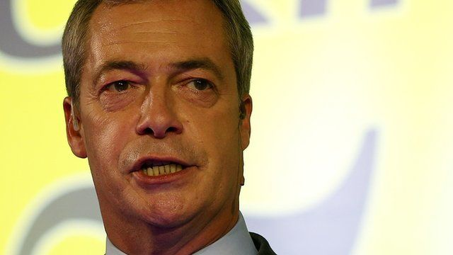 The leader of the United Kingdom Independence Party Nigel Farage